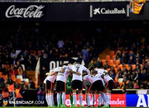 valencia cf out on a lim