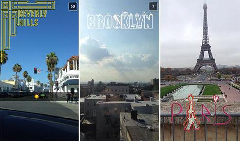 exemplos de filtros geográficos do snapchat geofilters snapchat media mídia