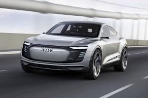 Conceptul e-tron Sportback anticipeaza al doilea Audi electric de serie