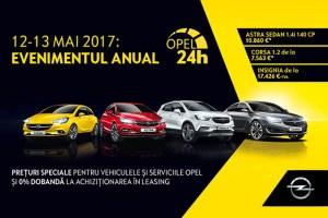 Pe 12-13 mai, profita de cele mai bune oferte Opel din an!