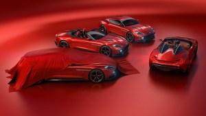 Aston Martin dezvaluie Vanquish Zagato Speedster si Shooting Brake