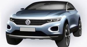 Prima schita oficiala a noului Volkswagen T-Roc