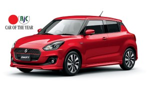 Noul Suzuki Swift a castigat premiul RJC Car of the Year 2018