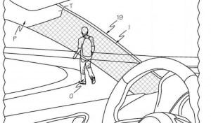 Toyota a brevetat montantul A transparent