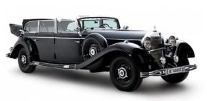 Un Mercedes din 1939, care i-a apartinut lui Hitler, va fi scos la licitatie