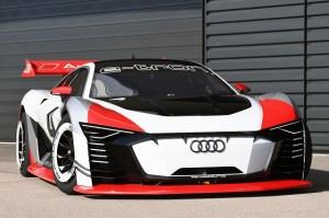 Audi E-Tron Vision Gran Turismo, un concept functional si in realitate