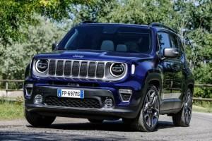 Jeep Renegade in versiunea 2018 facelift are un aspect usor revizuit si motoare noi
