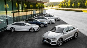 Lansarea pe piata a noului Q8 completeaza noua gama de modele Audi de talie mare