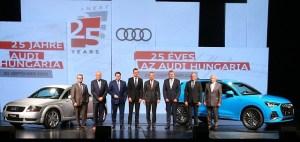 Audi in Ungaria – 25 de ani de succese pe linie