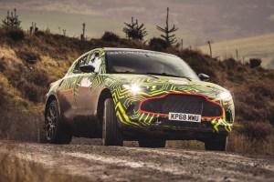 Primele imagini oficiale cu DBX, primul SUV Aston Martin