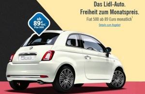 In Germania, Lidl vinde si automobile