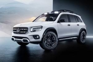 "Mercedes GLB Concept: viitorul SUV ""mic"", cu 7 locuri"