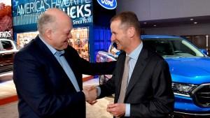 Parteneriatul dintre Ford si Volkswagen se extinde la automobilele electrice si autonome