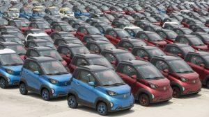 Un tsunami de automobile electrice destinate exportului, in formare