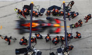 Red Bull si-a imbunatatit recordul de pit stop