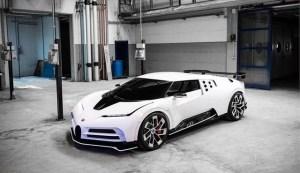 Bugatti Centodieci: opt milioane de euro fara taxe, doar zece exemplare!