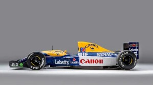 Pret record pentru un monopost Williams pilotat de Nigel Mansell, in 1992