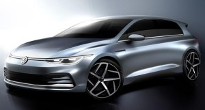 Primele schite oficiale cu Volkswagen Golf 8