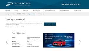 Un nou serviciu de mobilitate destinat persoanelor fizice, lansat de Porsche Finance Group
