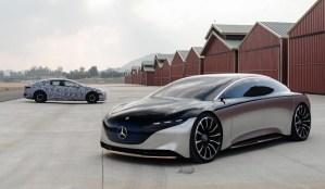 Mercedes  electrifică AMG și Maybach