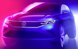 Volkswagen Tiguan 2 facelift, prima schiță oficială