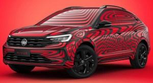 Primele imagini oficiale cu noul SUV coupé Volkswagen Nivus