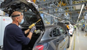 The Romanian automotive industry gradually restarts production