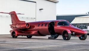Limo-Jet, un jet privat convertit în limuzină