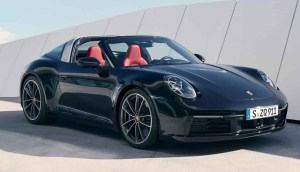 Noul Porsche 911 (Type 992), în versiune Targa