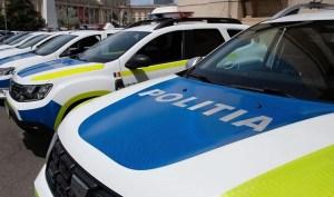 Ministerul Afacerilor Interne explică noua colantare a mașinilor de poliție