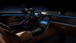 Noul Mercedes Clasa S (2020), primele imagini cu interiorul