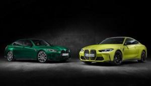 Noile BMW M3 și M4, Sedan şi Competition