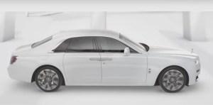 Noul Rolls-Royce Ghost - lux minimalist