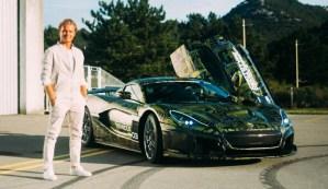 Nico Rosberg și-a testat noua achiziție: un hypercar Rimac C_Two de peste 1.900 CP