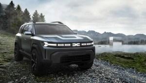 Un nou SUV Dacia, anunțat de conceptul Bigster