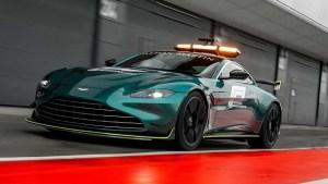 Formula 1 are un nou Safety Car: Aston Martin Vantage