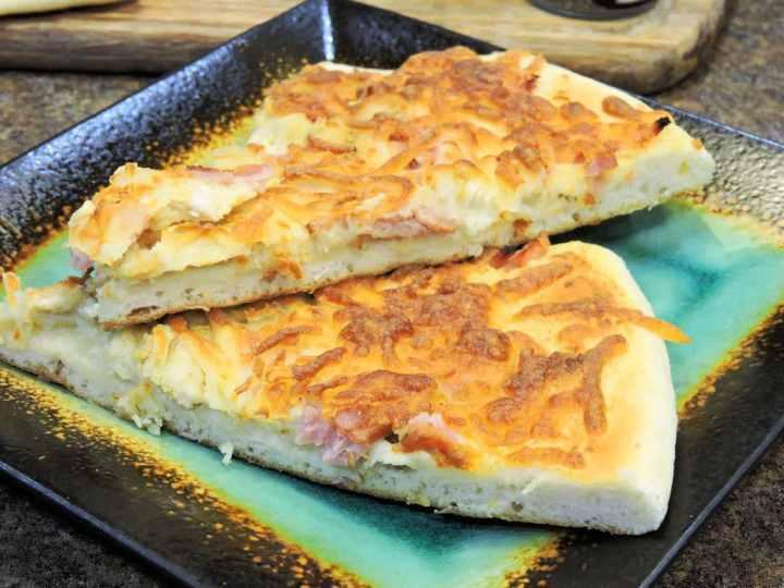 24Bite Recipe: Cordon Bleu Chicken Pizza Recipe by Christian Guzman