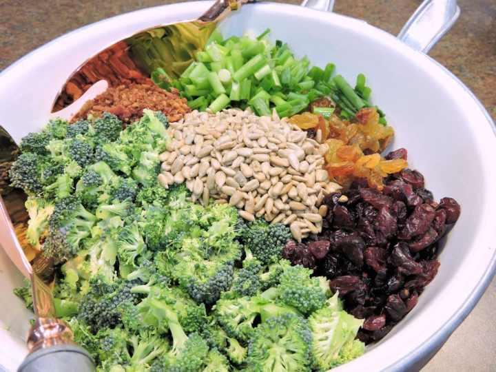 24Bite Recipe: Creamy Broccoli Salad Recipe by Christian Guzman