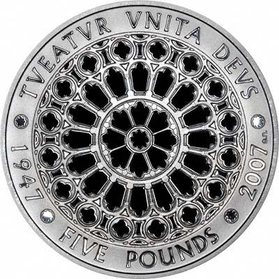 2007 Diamond Wedding 5 Crown Coin