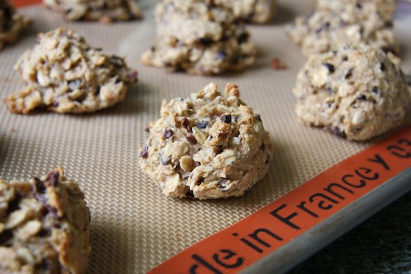 Peanut Butter, Banana, and Cacao Nib Cookies I 24 Carrot Life