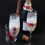 {Recipe Redux} Strawberry Champagne Ice Cream Floats