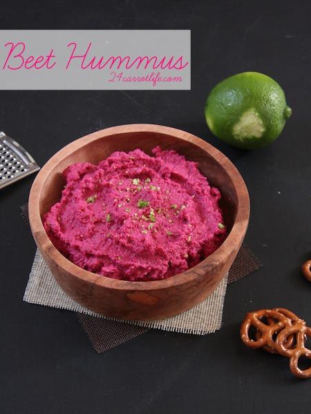 Beet Hummus I 24 Carrot Life