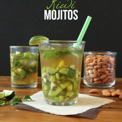 Coconut Kiwi Mojitos {Recipe Redux}