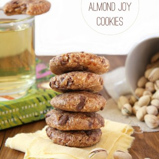 Perfect Pairing: No Bake Almond Joy Cookies, Homemade Mint Tea, and In Shell Pistachios