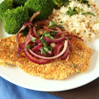 Spicy Quinoa Chicken Milanese + A Giveaway