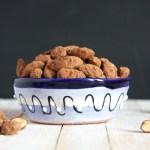 Copycat Trader Joe's Sea Salt & Turbinado Sugar Dark Chocolate Almonds I 24 Carrot Life