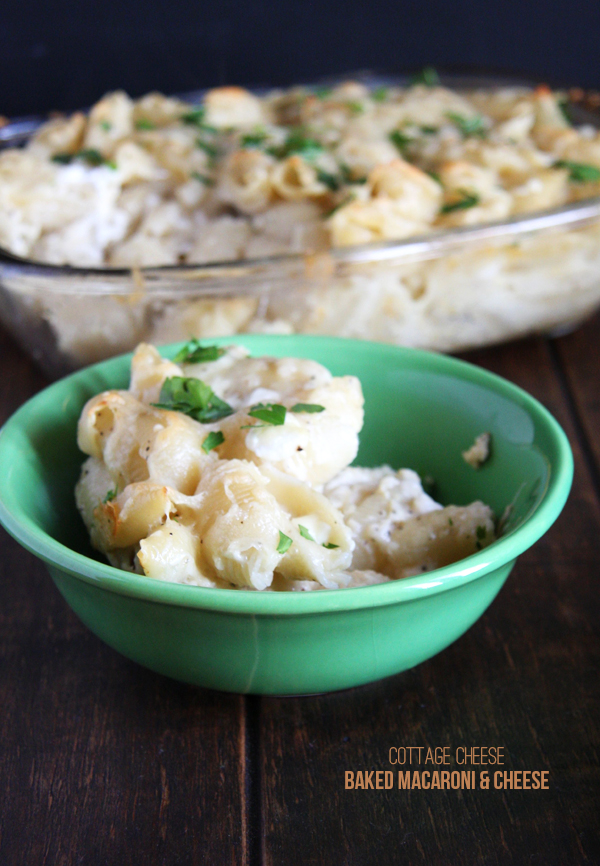 Elegant Cottage Cheese Baked Macaroni And Cheese I 24 Carrot Life  This Healthy  Version Of Your