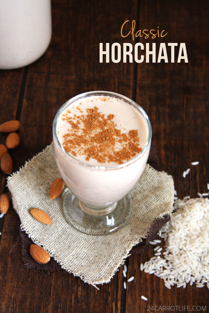 Classic Mexican Horchata // 24 Carrot Life #mexican #healthy