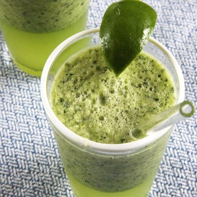 Refreshing Cucumber Lime Spa Drink