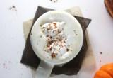 Coffee Free Maple Pumpkin Spice Latte // 24 Carrot Life #psl #caffeinefree #healthy #vegan